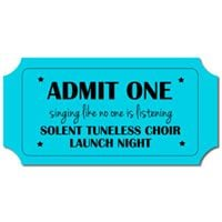 The Launch of Solent Tuneless Choir