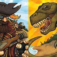 Pirates &amp Dinosaurs workshop