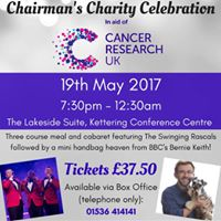 Chairmans Charity Celebration for Cancer Research
