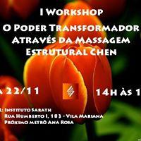 Workshop Poder Transformador atravs da Massagem Estrutural Chen