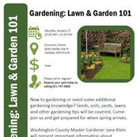 Lawn &amp Garden 101 - Free Gardening Class