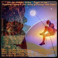 Camping - Trekking - Rappelling at Flamingo Hill Region