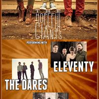 The Hopeful Giants  Eleventy  The Dares  Motions. at MTL Free