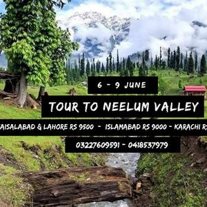 3 Days Tour to Neelum Valley - Azad Kashmir