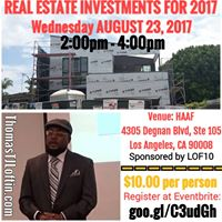 Real Estate Investments for 2017