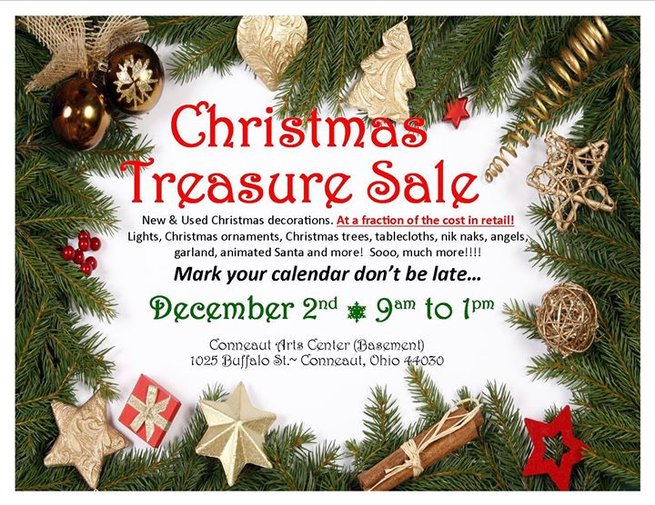 christmas treasure sale new and used christmas decorations - Used Christmas Decorations For Sale