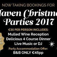 Christmas Parties at The Haven
