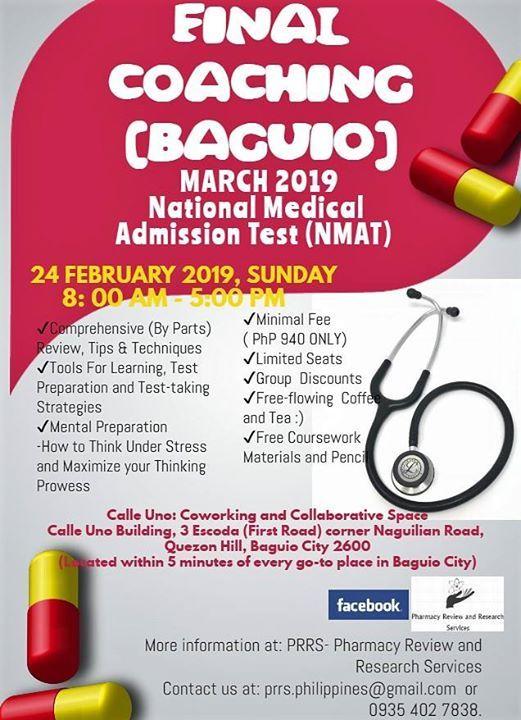 March 2019 NMAT Final Coaching (BAGUIO)