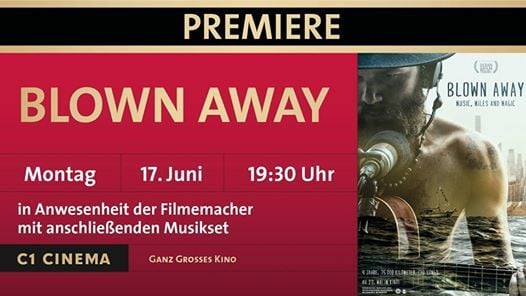 Premiere Blown away in Anwesenheit der Filmemacher