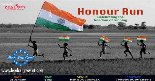 Honour Run - Bangalore