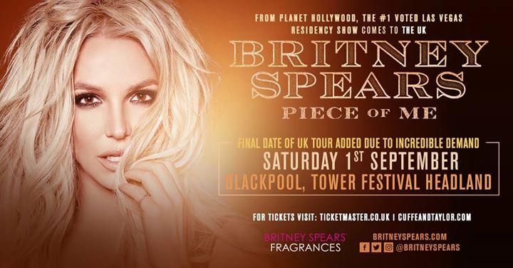 Britney Spears - Tower Festival Headland Blackpool
