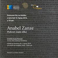 Anabel Zanze pedeset osam slika