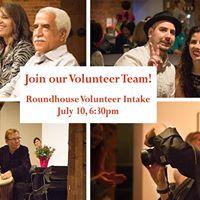Roundhouse Volunteer Intake