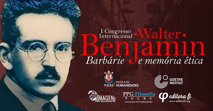 I Congresso Internacional Walter Benjamin