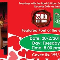 Tuesdays with the Bard at Urban Solace features Rohini Malur