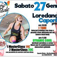MasterClass con Loredana Caporicci