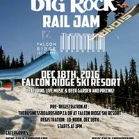 Big Rock Rail Jam at Falcon