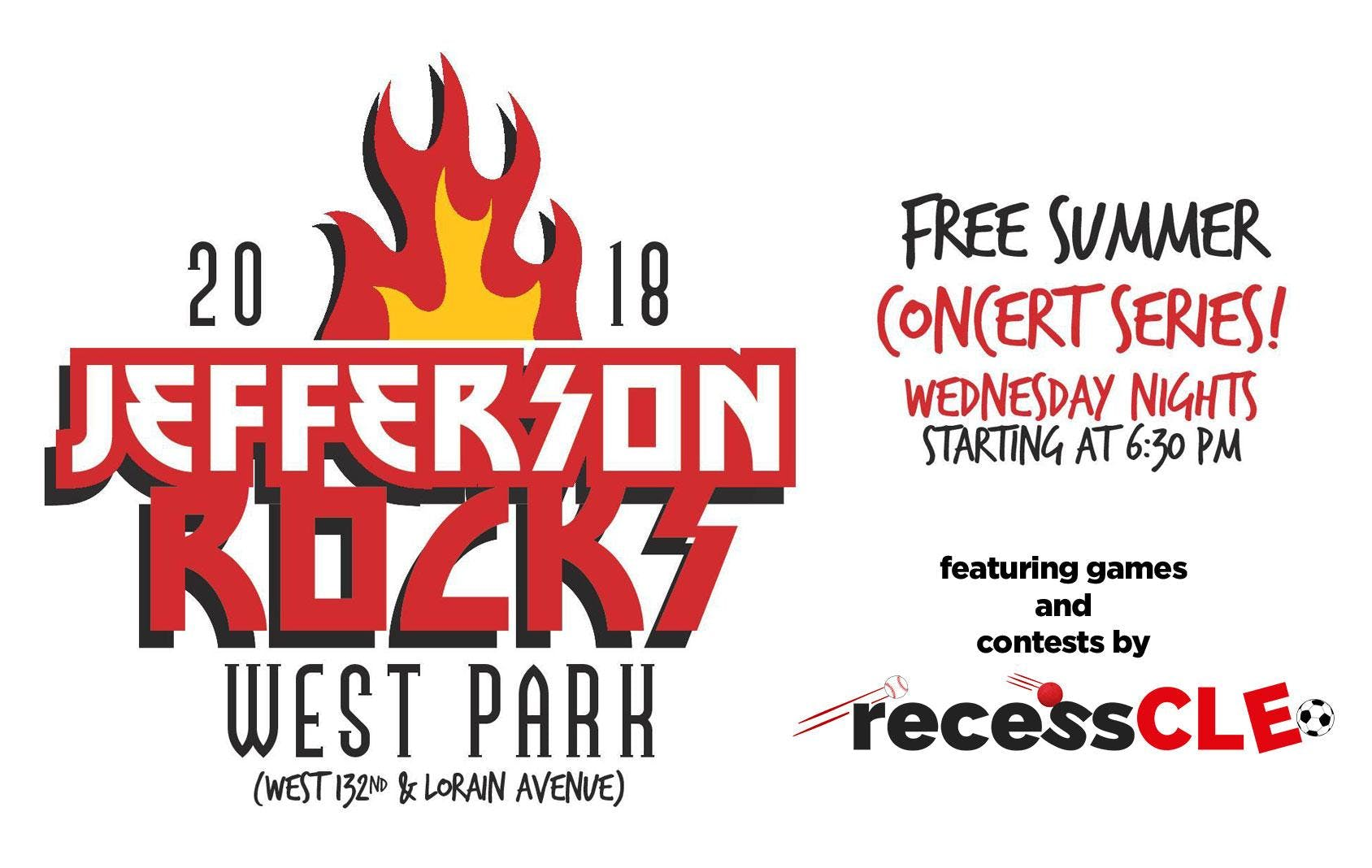 Jefferson Rocks - Free Summer Concert Series in West Park fRecess Cleveland