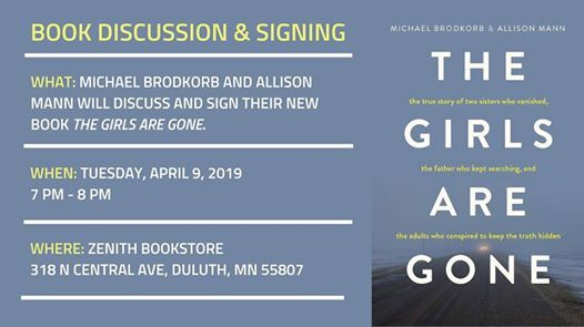 Book Discussion and Signing at Zenith Bookstore - Duluth