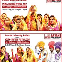 Aryans Youth Festival in parallel with Aryans Tech Fest