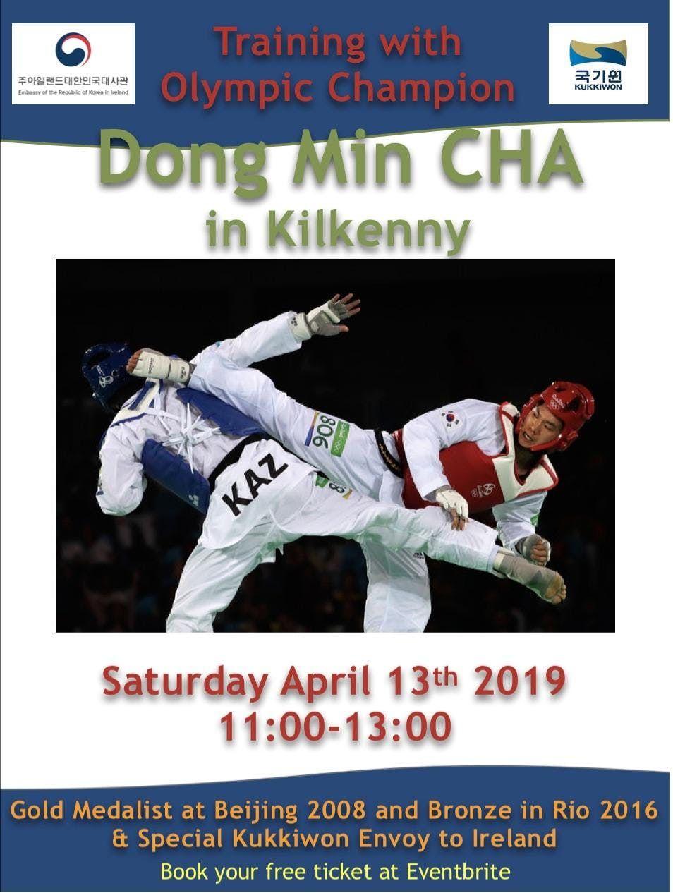 Open day - Taekwondo training with Olympic Champion, Dongmin