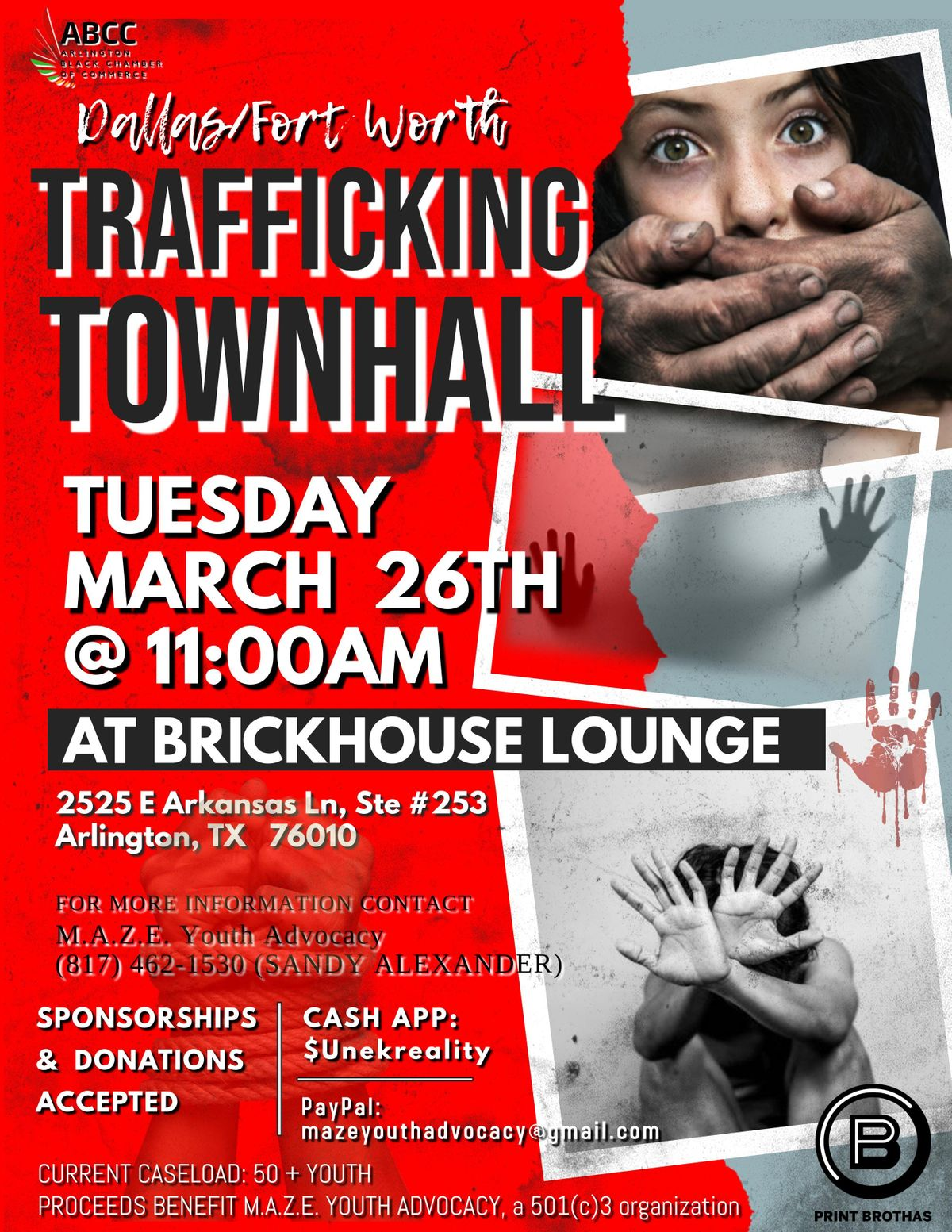 DallasFort Worth Trafficking Townhall