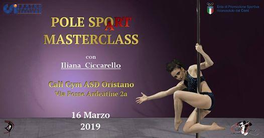 Pole SpoArt Masterclass Con Iliana Ciccarello