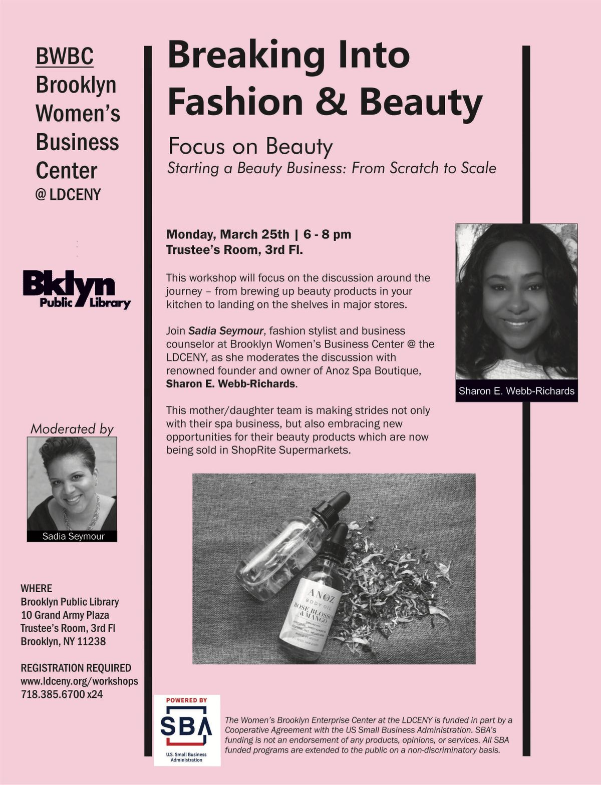 Breaking Into Fashion & Beauty  Focus on Beauty Starting a Beauty Business From Start to Scale