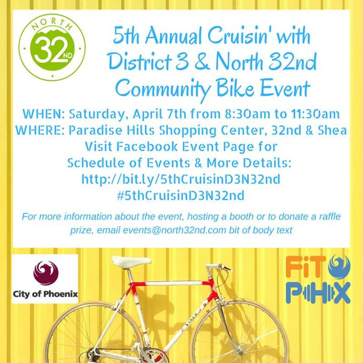 5th Annual Cruisin with District 3 & North 32nd Community Event
