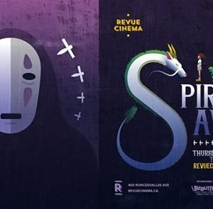 Anime At The Revue presents Spirited Away