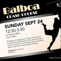 Balboa Crash Course with Yurina Shin