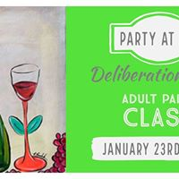 Deliberation Room Paint Event