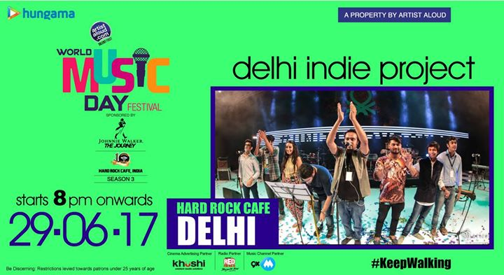 World Music Day - Pre Show feat. Delhi Indie Project