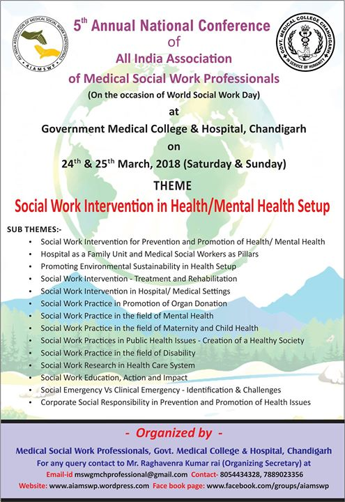 5th National Conference Of Aiamswp At Chandigarh Chandigarh