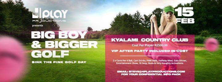 Big Boy & Bigger Golf - Sink The Pink Golf Day