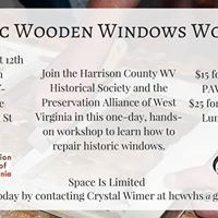 Historic Wood Windows Workshop