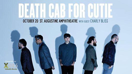 X106.5 presents Death Cab for Cutie