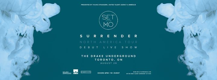 Set Mo at The Drake Underground  Aug 29