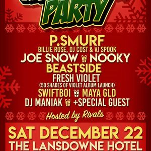 Freshly Squeezed Xmas Block Party - P.Smurf Joe Snow Nooky