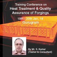 Heat Treatment &amp Quality Assurance of Forgings