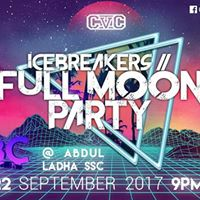 CVCFSU Presents FULLMOON PARTY - Icebreakers  All-Ages BTS Party