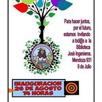 Inauguracin Ctedra Libre de Soberana Alimentaria 9 de Julio