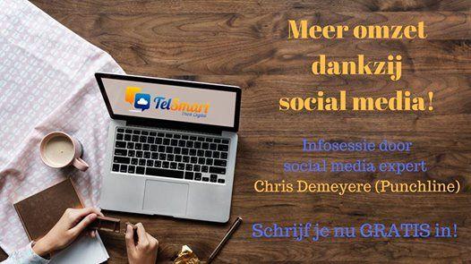 Ontbijtinfosessie met Social Media Expert Christ Demeyere