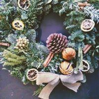 Christmas Door Decor &amp Fresh Wreaths