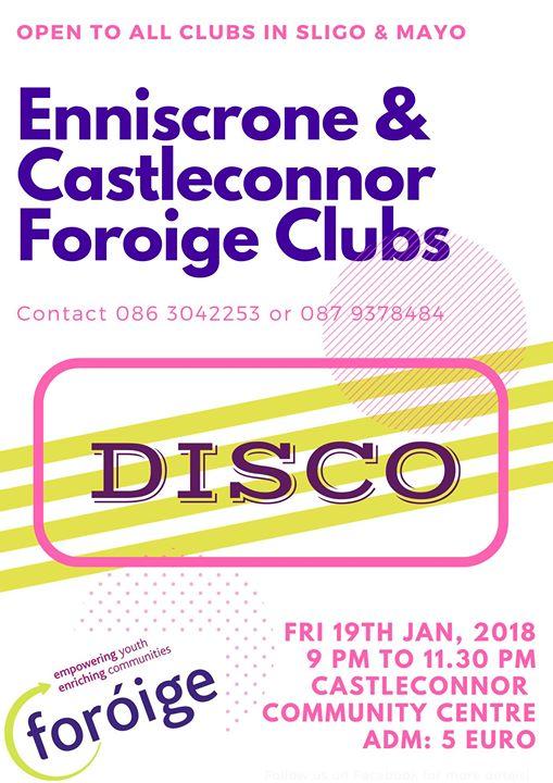 Enniscrone & Castleconnor Foroige Disco at Castleconnor Community