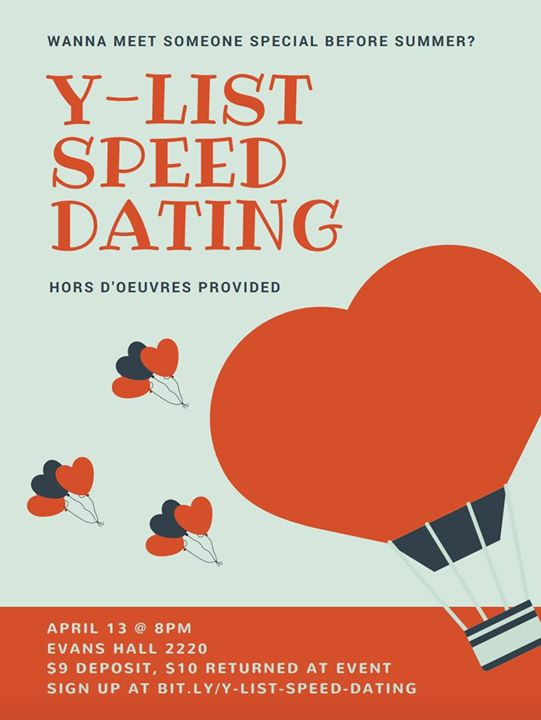 sign up for speed dating