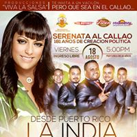 Segovia Orquesta en la Serenata al Callao