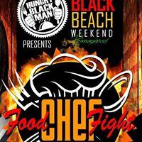 Miami Black Beach Weekend Chef Food Fight Series