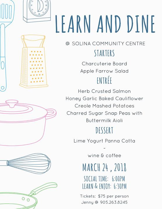 LEARN & DINE