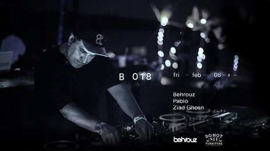 B018 Presents Behrouz